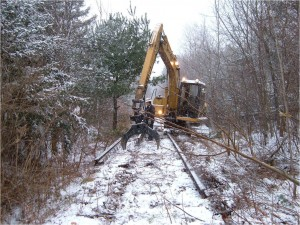 Railroad Track Removal