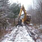 Vermont Abandoned Track Removal
